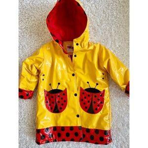☔️ Kids Driplet Vintage Ladybug Raincoat 🌈